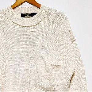 Oversized 525 America 3/4 Sleeve Sweater